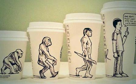 #100CoffeeCups – Kunstwerke auf Starbucks Kaffeebechern