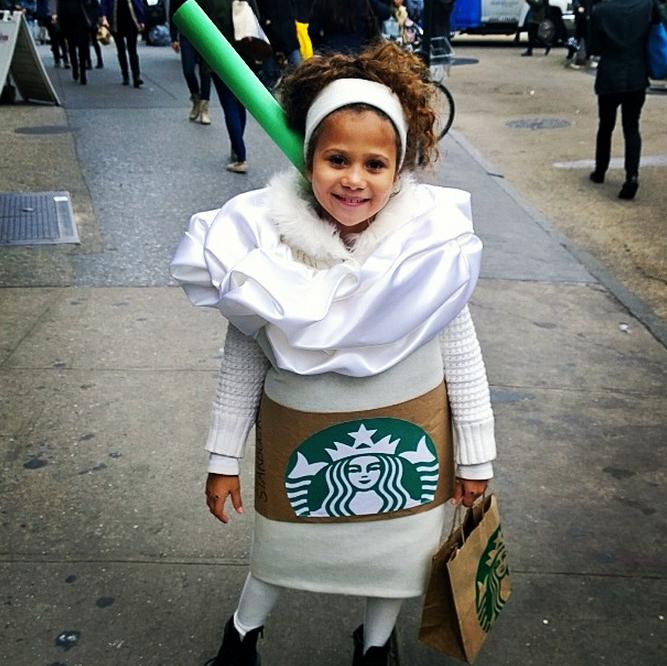 Starbucks Kaffee Kostüm Halloween Karneval