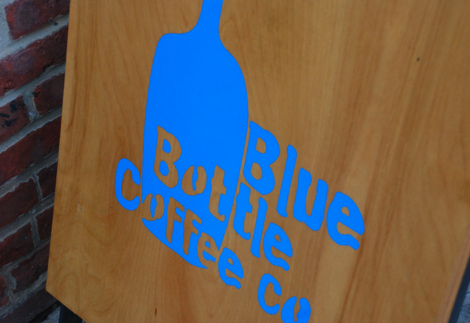 Blue Bottle Logo Williamsburg