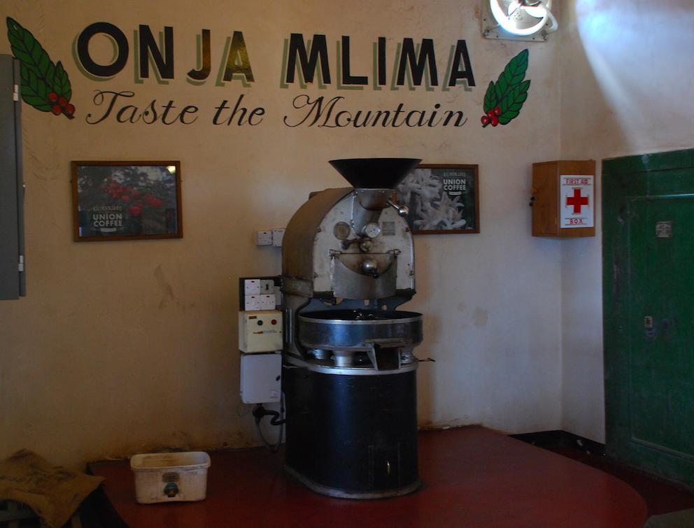 Röstmaschine Moshi Tanzania