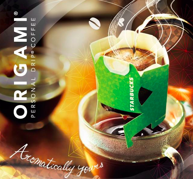 Origami Starbucks