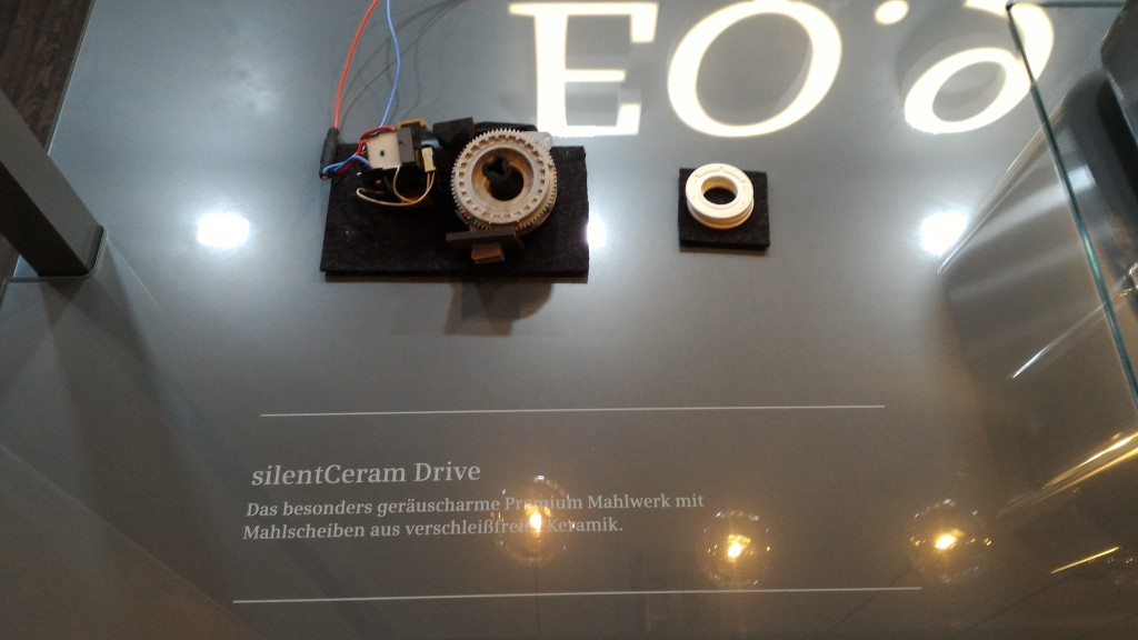 Siemens EQ9 Keramik Mahlwerk