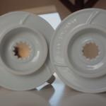 Öffnungen Hario Vergleich Dripper v60 1 und 2 Tassen