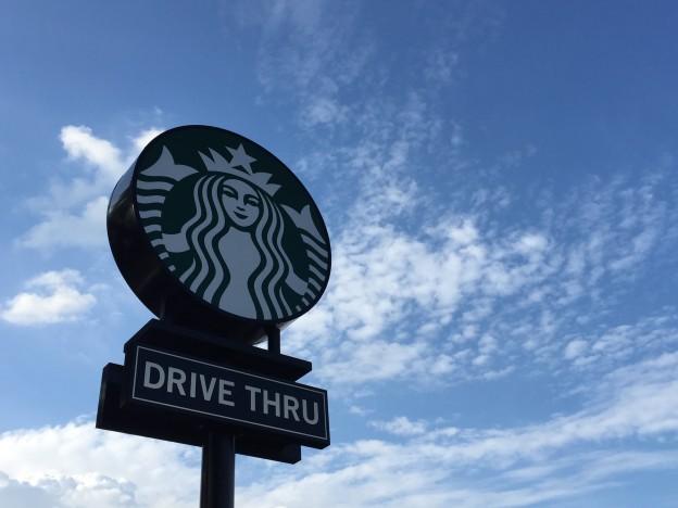 Der Drive Thru Starbucks in Düsseldorf – Ein Besuch