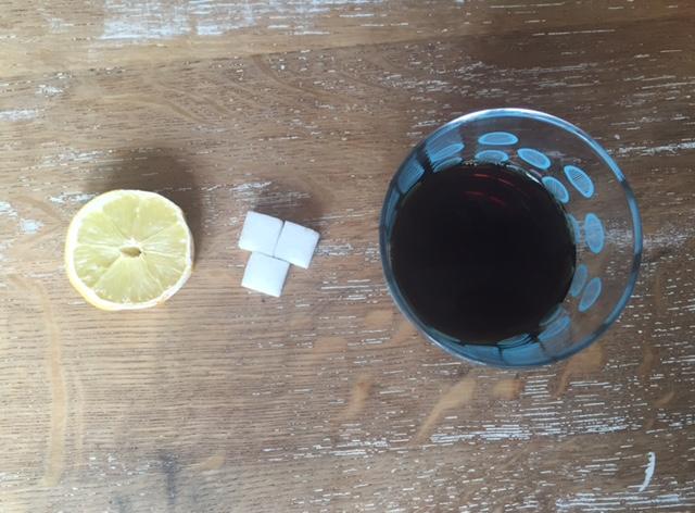 Was hilft gegen Kater Rezept Kaffee Zitrone Zucker