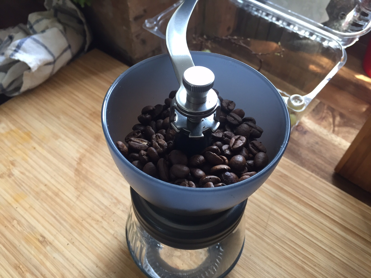 Füllmenge Hario Kaffeemühle