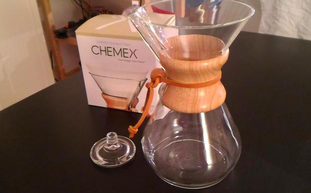 Chemex Karaffe Personen und passenden Filtern