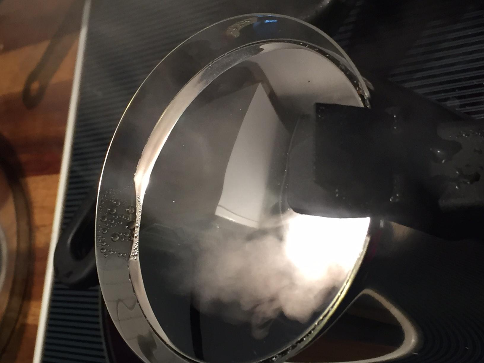 Bialetti Venus Schwachpunkt Dampfaustritt