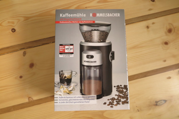 Rommelsbacher EKM 300 Verpackung Kaffeemuehle