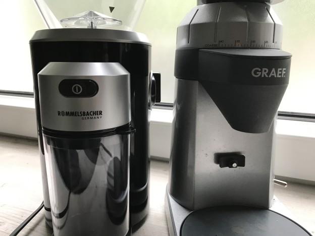 Welche Kaffeemühle ist besser? Die Graef CM 800 und die Rommelsbacher EKM 300 im direkten Vergleich