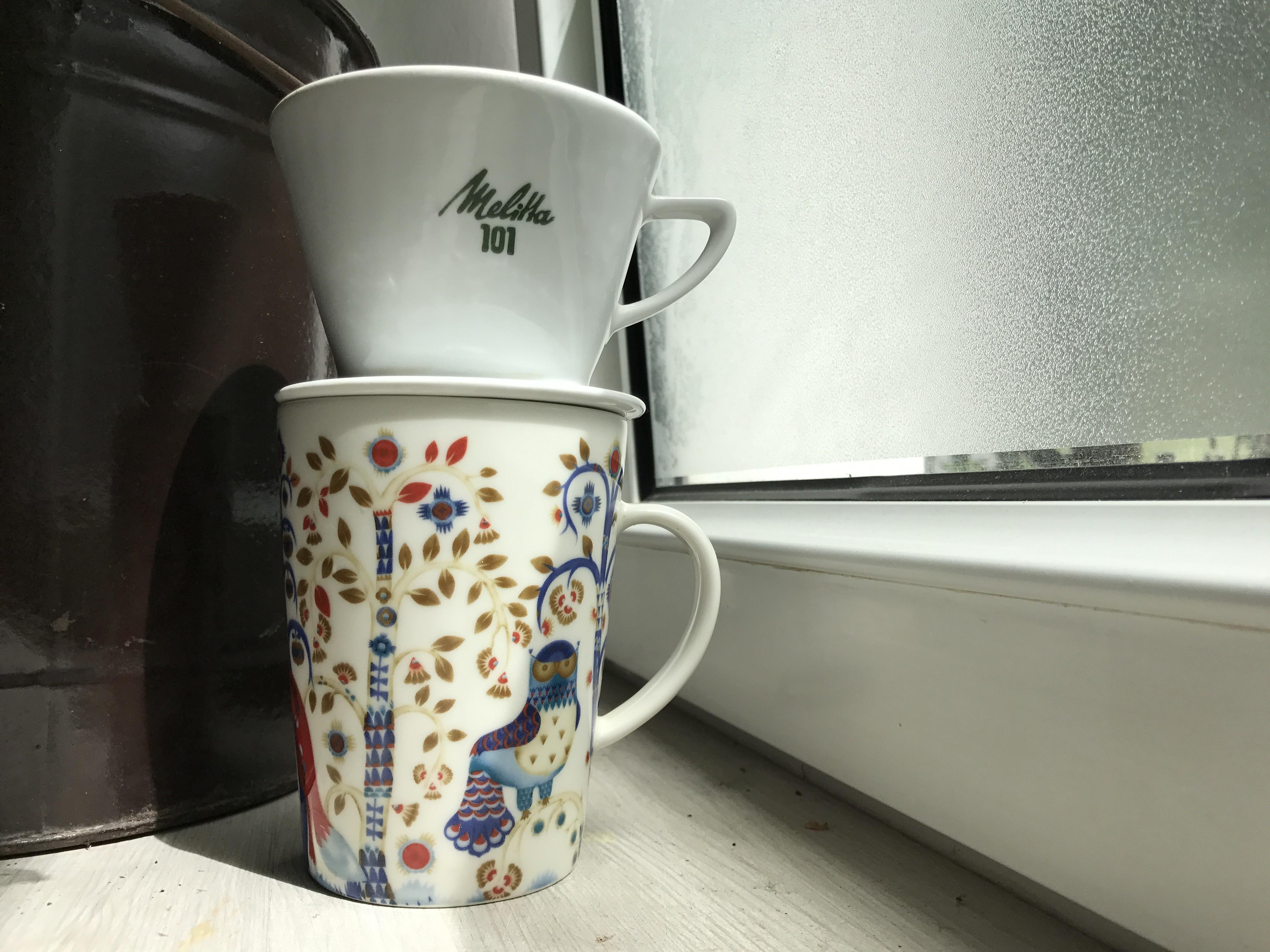 Melitta 101 Porzellan Handfilter Dripper Tipps fuer guten Kaffee
