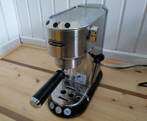 Im Test: Die De'longhi EC680 Dedica Siebträger Espressomaschine