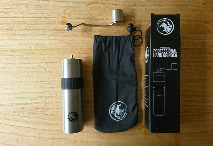 Rhinowares Handkaffeemuehle Test Verpackung