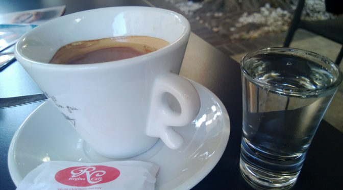 Kaffee auf Malta