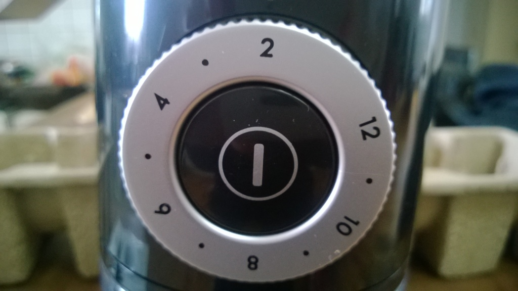 Kaffeemenge Einstellung EKM 200 Rommelsbacher Kaffeemühle