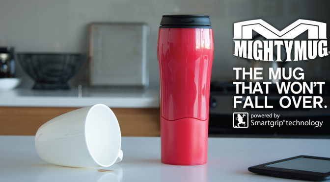 Mighty Mug – Der Kaffeebecher, der nicht umfallen kann!