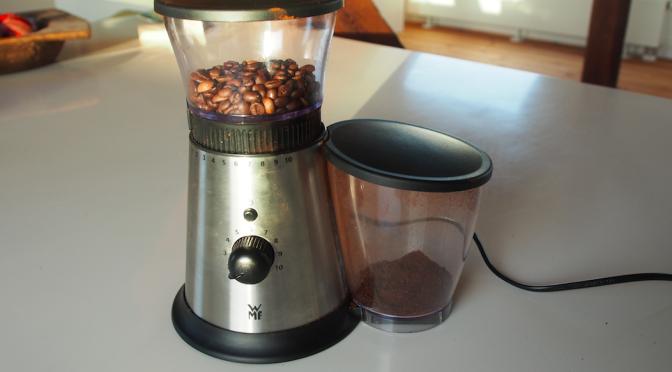 Im Test: Die WMF Stelio Kaffeemühle