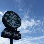 Starbucks Logo Düsseldorf Drive Thru