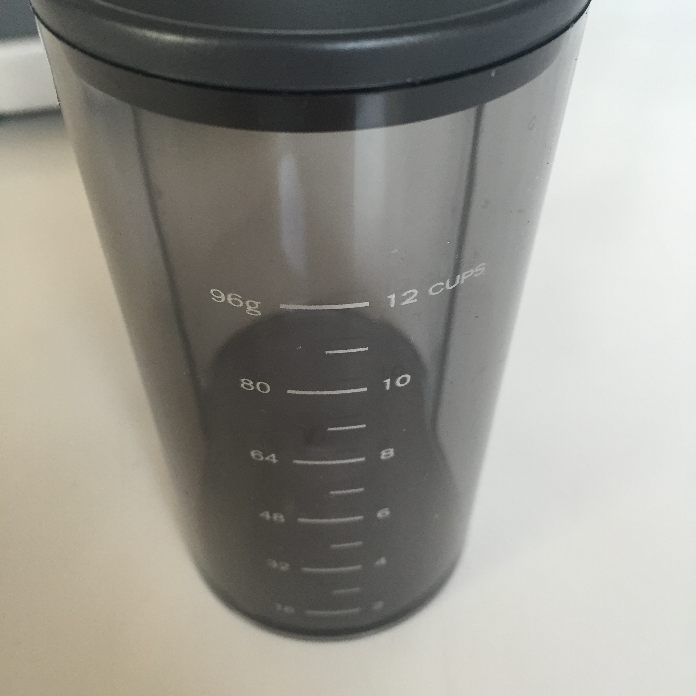 Graef CM 800 Kaffeemühle Kaffeemehlbehälter