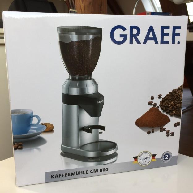 Im Test: Die Graef CM 800 Kaffeemühle mit Kegelmahlwerk