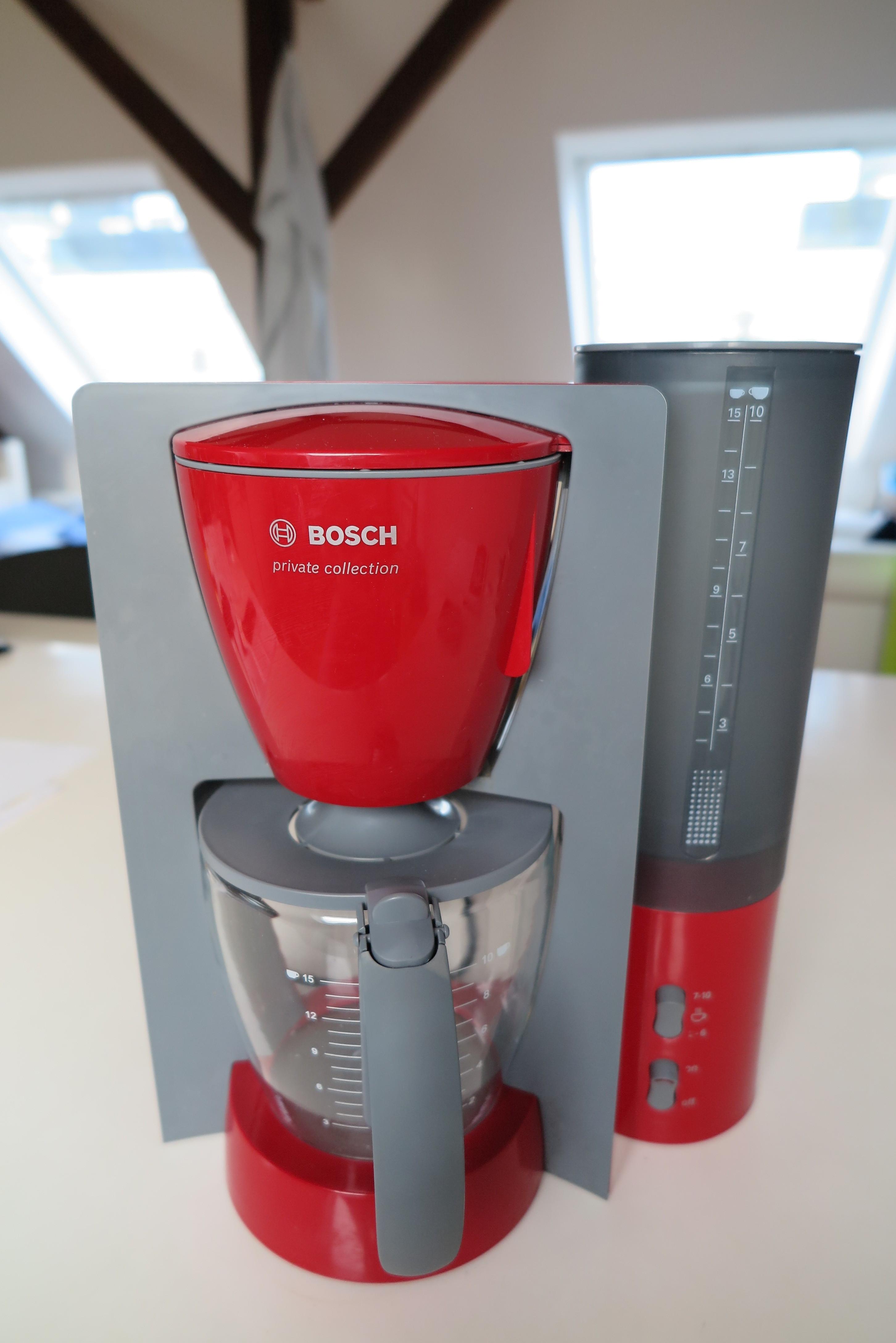 Bosch TKA6034 Kaffeemaschine Gesamtanischt Tank