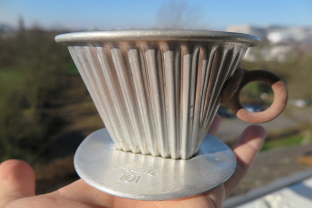 Melitta 101 aus Aluminium – Flohmarktschatz
