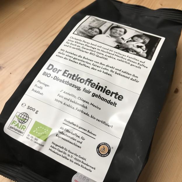 Der Entkoffeinierte Kaffee von Coffee Nation Mexico