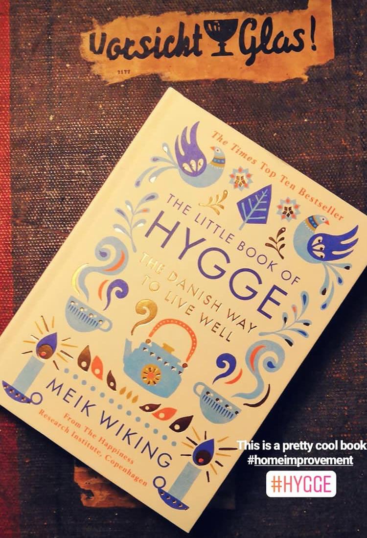 Buch zum Thema Hygge und was Kaffee damit zu tun hat
