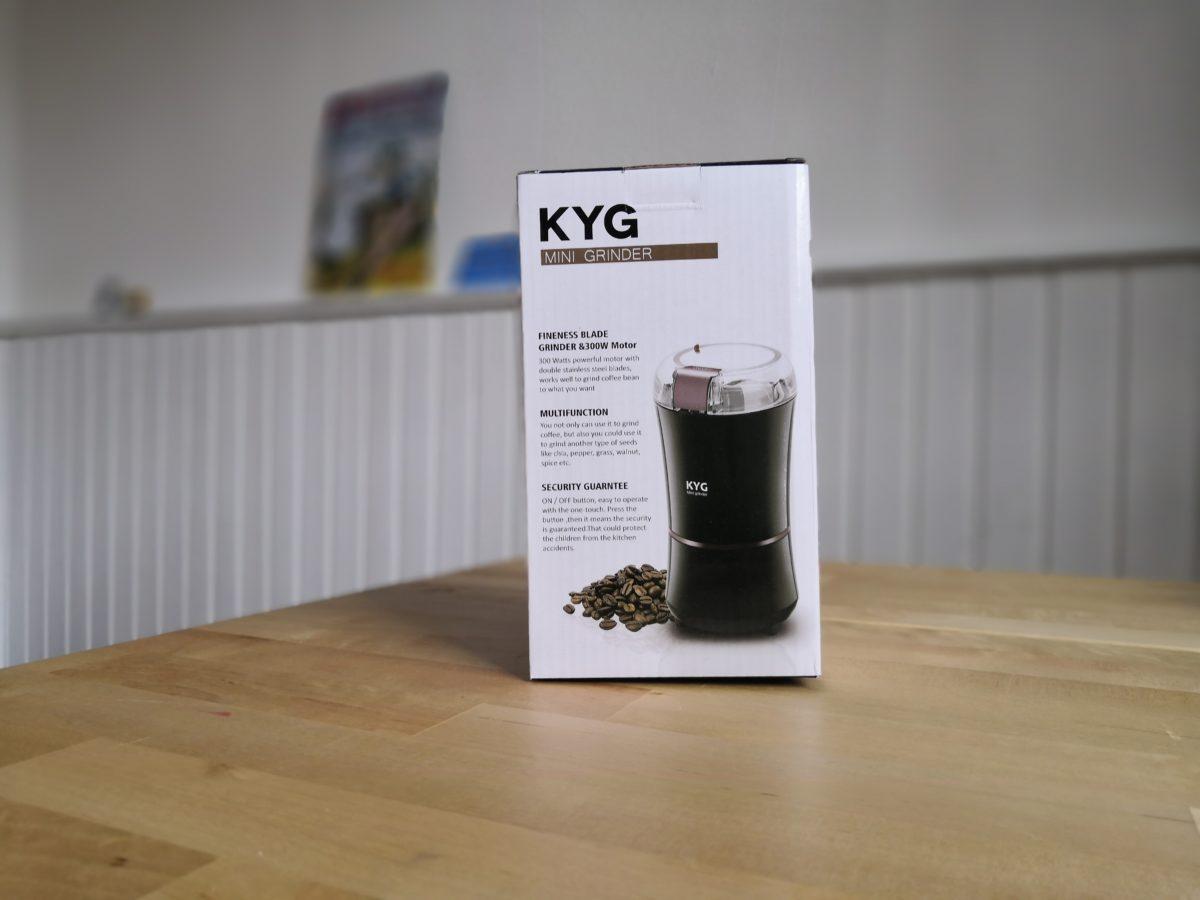 Testbericht der Kaffeemuehle von KYG