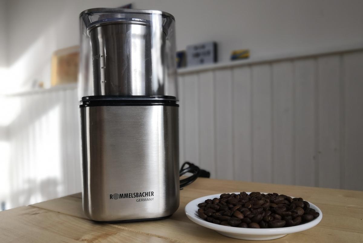 Im Test: Die Rommelsbacher EGK 200 Kaffeemühle