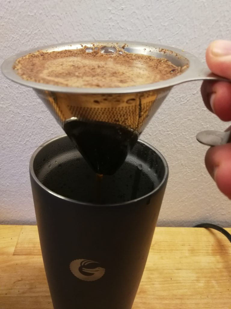 Coffee Gator Reise-Thermobecher Filter